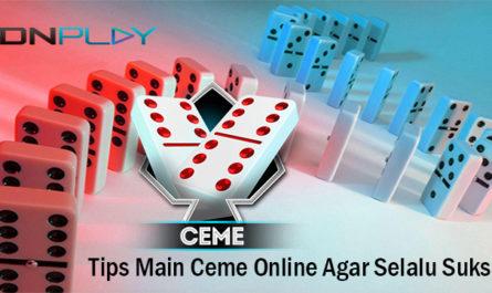 Tips Main Ceme Online Agar Selalu Sukses