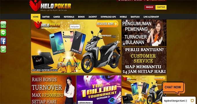 Agen Poker Online Terpercaya di Indonesia Helopoker